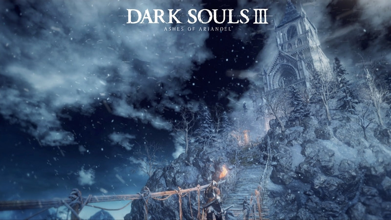 Dark Souls 3 Ashes of Ariandel Poster
