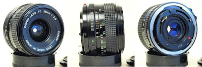 Canon New FD 28mm 1:2.8 #899