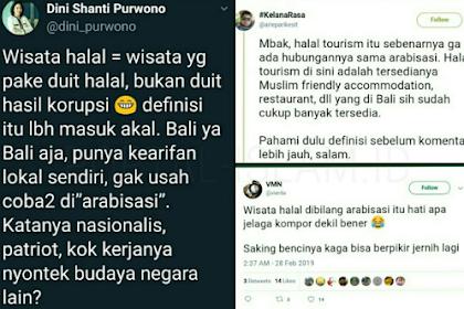 "Tolak Ide Wisata Halal karena Dianggap ""Arabisasi"", Caleg PSI Disikat Warganet"