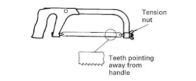 Hacksaw Diagram