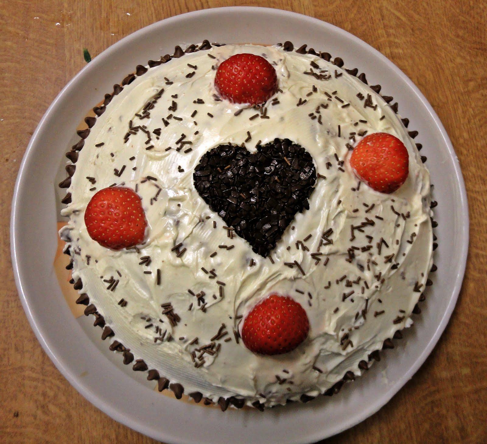 Ramya's Recipe...: Birthday Cake For My Dear Husband