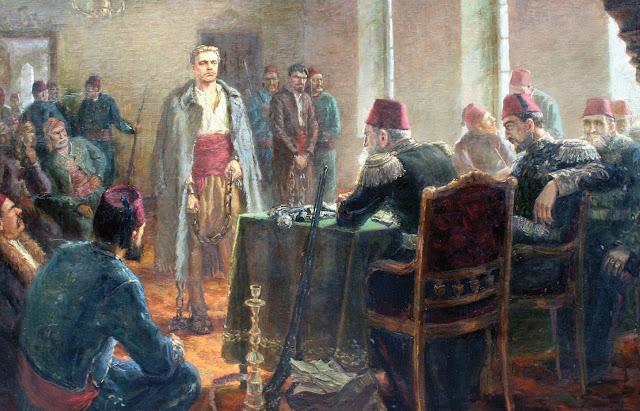 Juicio Vasil Levski Bulgaria