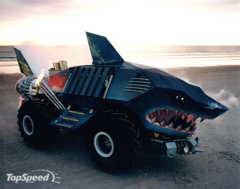 cars strange unusual vehicles weird custom truck shark models trucks crazy bizarre vehicle cool funny exotic voiture modified built shaped