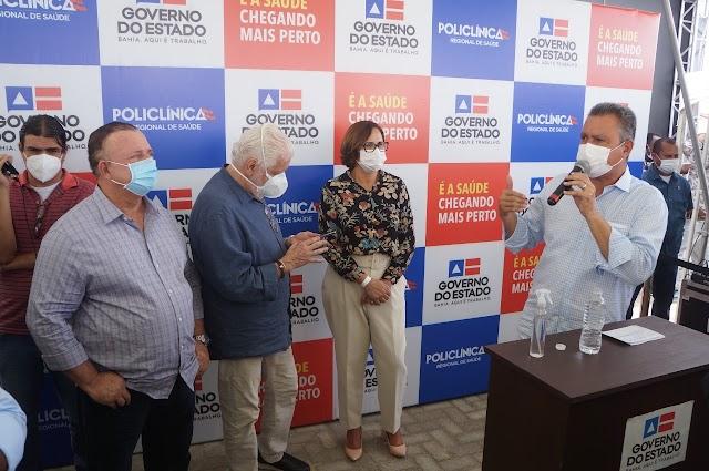 """""""O povo quer trabalho"""", diz presidente da Assembleia Legislativa da Bahia, Adolfo Menezes"""