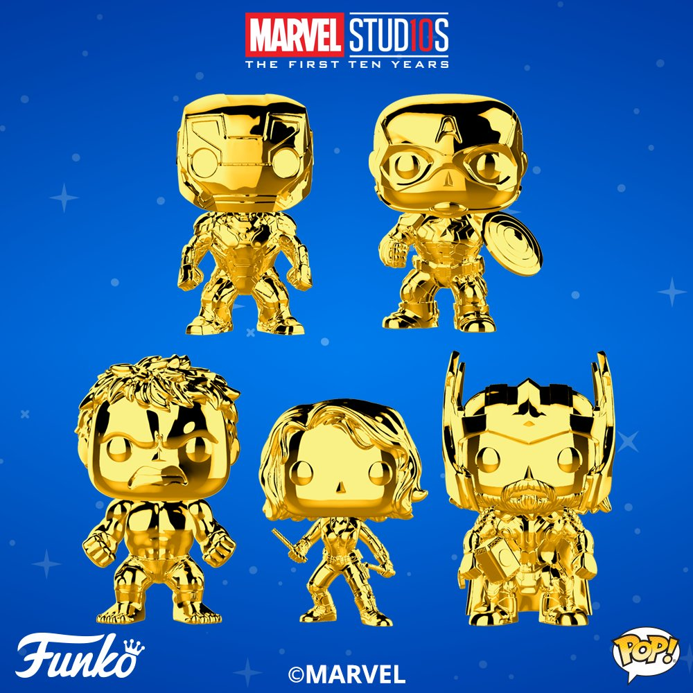 Marvel Studios: The Blot Says...: Marvel Studios: The First 10 Years Gold