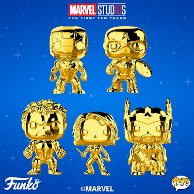 Marvel Studios: The First 10 Years Gold Chrome Pop! Series 1 by Funko
