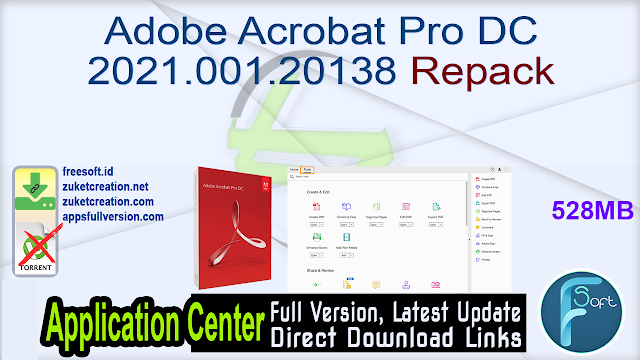 Adobe Acrobat Pro DC 2021.001.20138 Repack