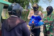 Kapolda Sumut dan Pangdam Kerahkan Polwan dan Kowad Salurkan Bansos
