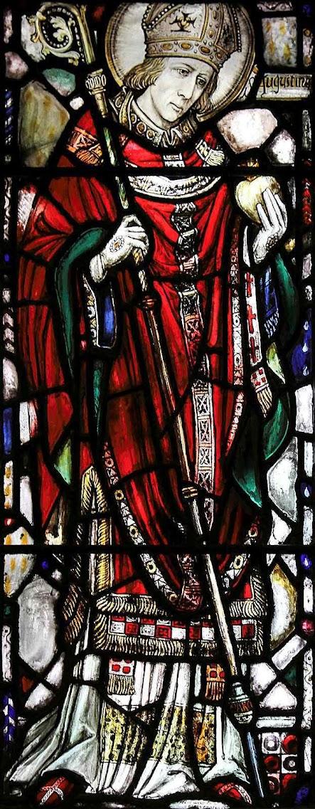 Santo Agostinho chefiou os monges que converteram a Inglaterra, iglesia de São Vincente Ferrer, New York