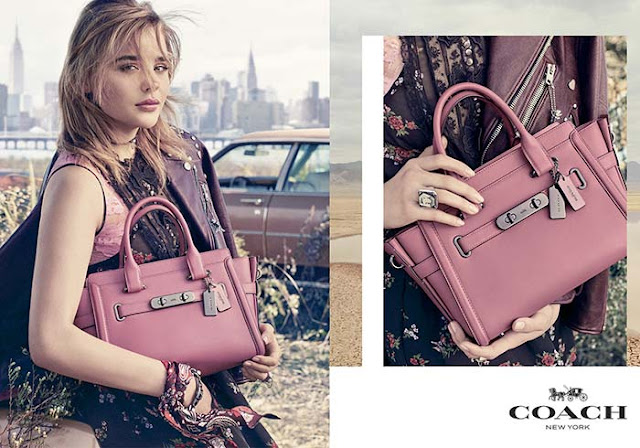 Chloë Grace Moretz for Coach Spring 2017 Campaign