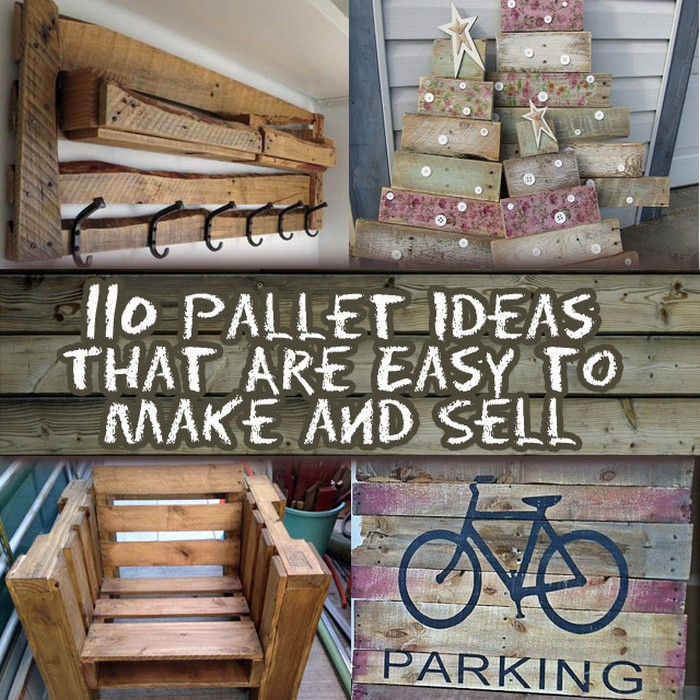 100+ DIY Pallet Ideas For Projects That Bulid Are Easy To