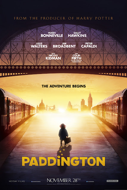 Paddington Poster The Adventure Begins