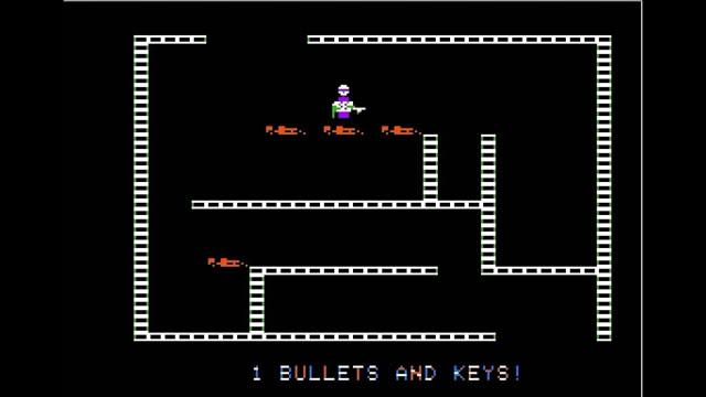 1981. Castle Wolfenstein Arcade