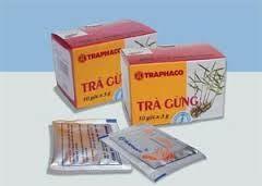 Trà gừng Traphaco- rẻ mà hữu ích