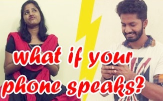 What if our Phone Speaks | Comedy | Kichdy