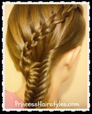Miraculous Hairstyles For Girls Princess Hairstyles Waterfall Braid Short Hairstyles Gunalazisus