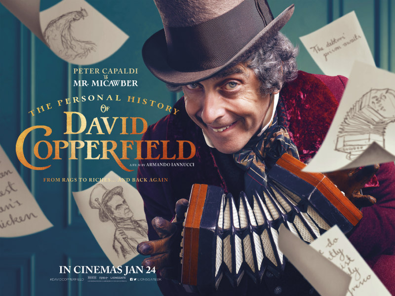 The Personal History of David Copperfield poster peter capaldi