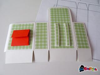 taschina di carta per messaggio speciale