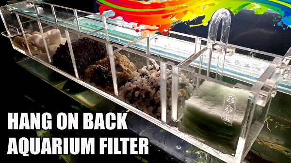 Benefits of Hang on Back HOB aquarium filter