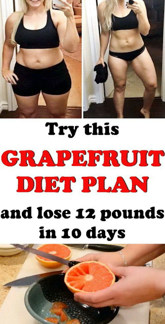 The Grapefruit Diet To Lose 12 Pounds In 10 Days