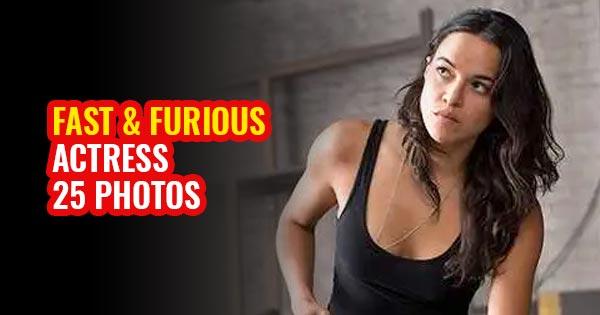 michelle rodriguez best photos actress fast & furious