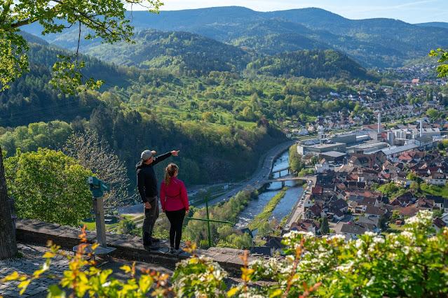 Premiumwanderweg Murgleiter | Etappe 2 von Gernsbach nach Forbach | Wandern nördlicher Schwarzwald 08