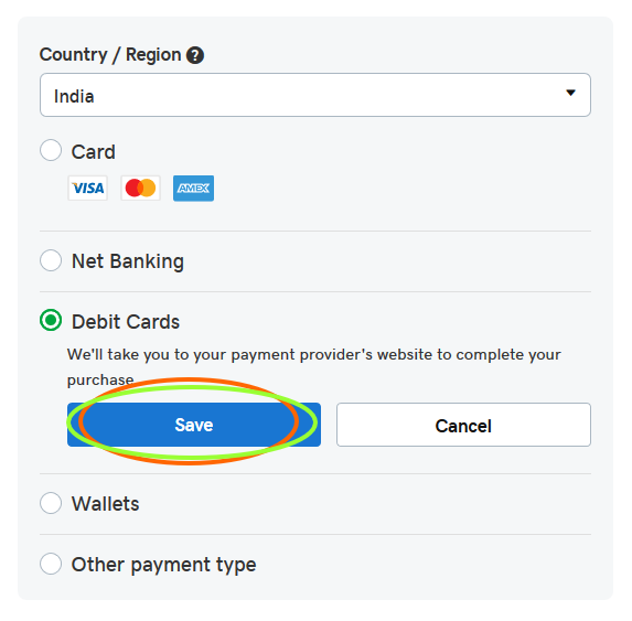 godaddy-payment-method
