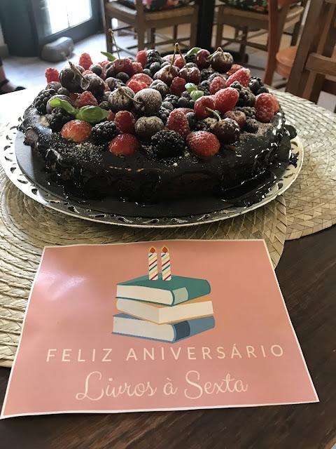 Bolo de chocolate - Dona Flor Café e Bistrô