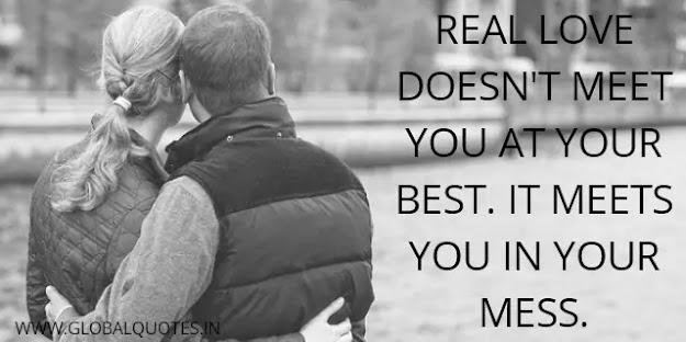 Real affection💚 doesn't meet you at your best. It meets you in your mess.