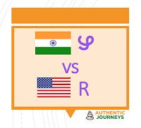 American R to Malayalam ZH
