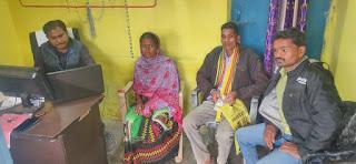 महात्मा गांधी ग्राम सेवा केंद्र से बन रहे आयुष्मान कार्ड
