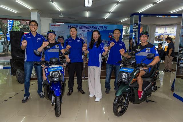 Peluncuran Yamaha Xride Terbaru