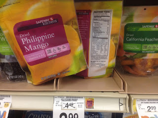 Dried Philippine Mango, Safeway Kitchens, 4 oz - Safeway