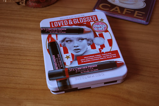 Review Thursday: Soap&Glory Loved&Glossed Lips