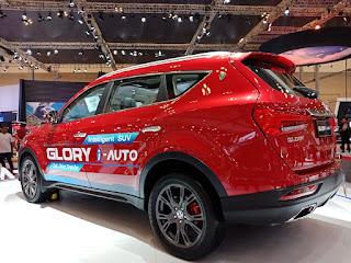 Tampak Samping DFSK Glory i-Auto