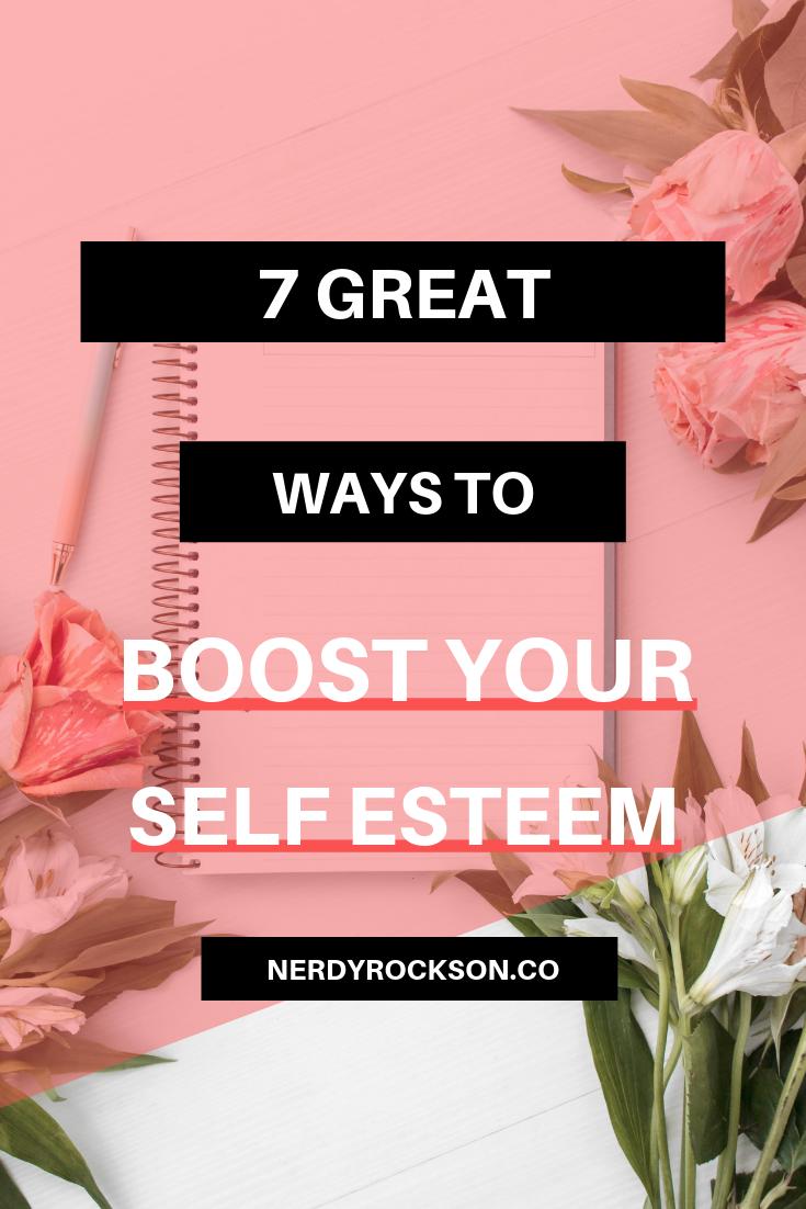7 Great Ways to Self-Esteem