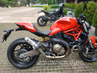 knalpot ducati monster 821 , ducati monster 821 exhaust , knalpot slip on ducati monster 821 , ducati monster indonesia , ducati monster modifikasi