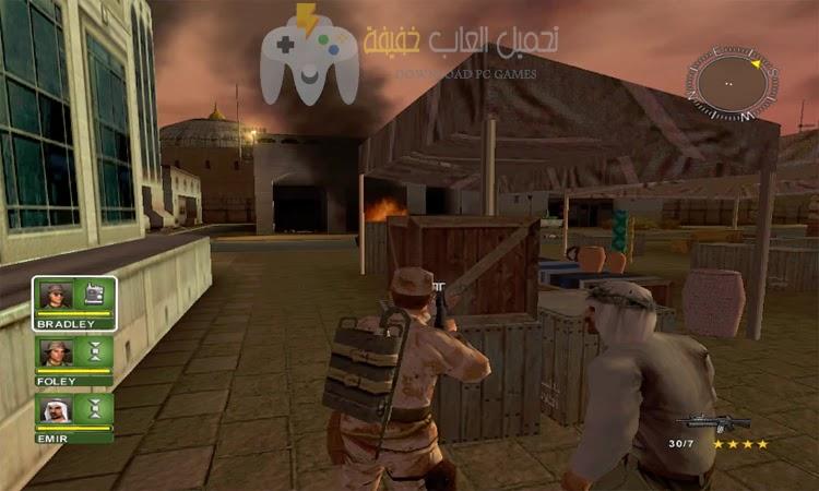 تحميل لعبة عاصفة الصحراء 1 بحجم صغير