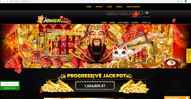 Cheat Jackpot Slot Game Online Auto Win 100%