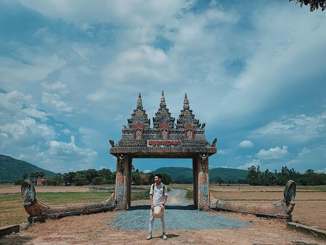 Revealing the 'heaven gate' in An Giang attracts tourists to check-in