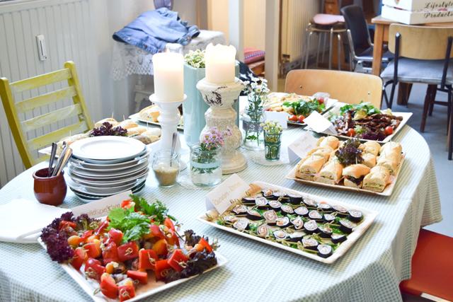 Leckeres Essen beim essence Blogger Event Hamburg
