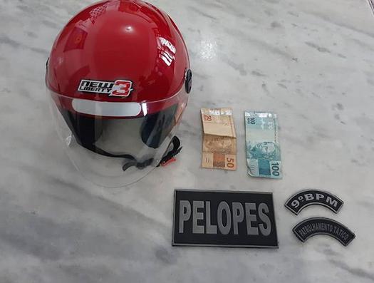 Em Delmiro Gouveia, polícia prende homem por furtar  capacete no centro da cidade