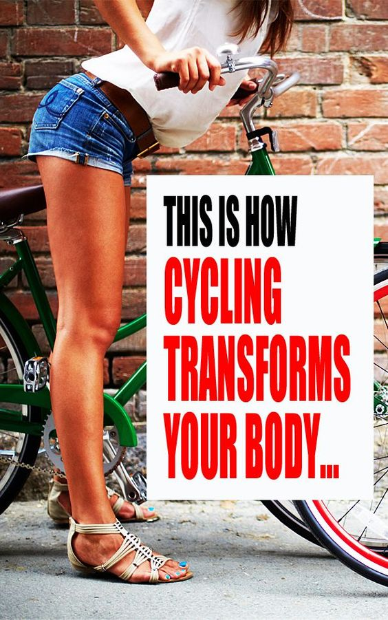 5 ways cycling changes your body