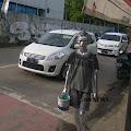 Romantika Hidup Manusia Silver di Kota Pemalang