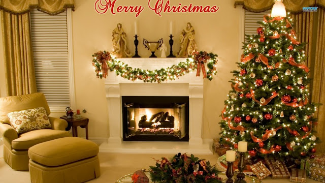 Merry Christmas Tree Wallpaper For Desktop iPhone Android Phone