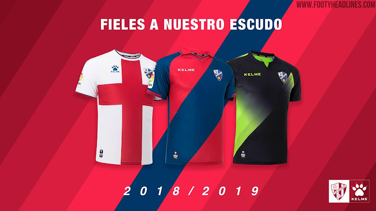 34f92e90e7d ... has launched its new 2018-2019 home, away and third kits. The kits are  made by Kelme, which became the club's official sponsor ahead of next  season.