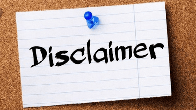 Cara Membuat Halaman Disclaimer pada Blog