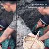 Sambil Menangis, Bocah Ini Kumandangkan Azan Di Liang Kubur Untuk Jenazah Sang Ayah