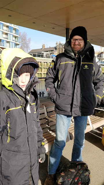 weatherproof clothing for Thames RIB Experience review