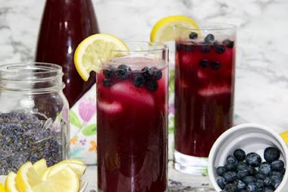 Blueberry Lavender Lemonade